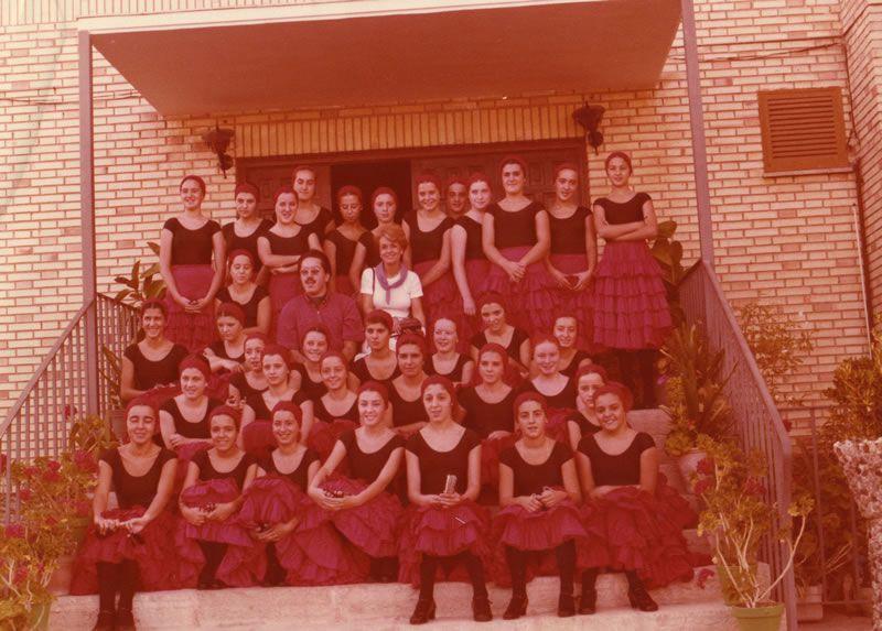 1979. En Alicante. O meu primeiro traballo como pianista da Escola de Danza Terpsícore