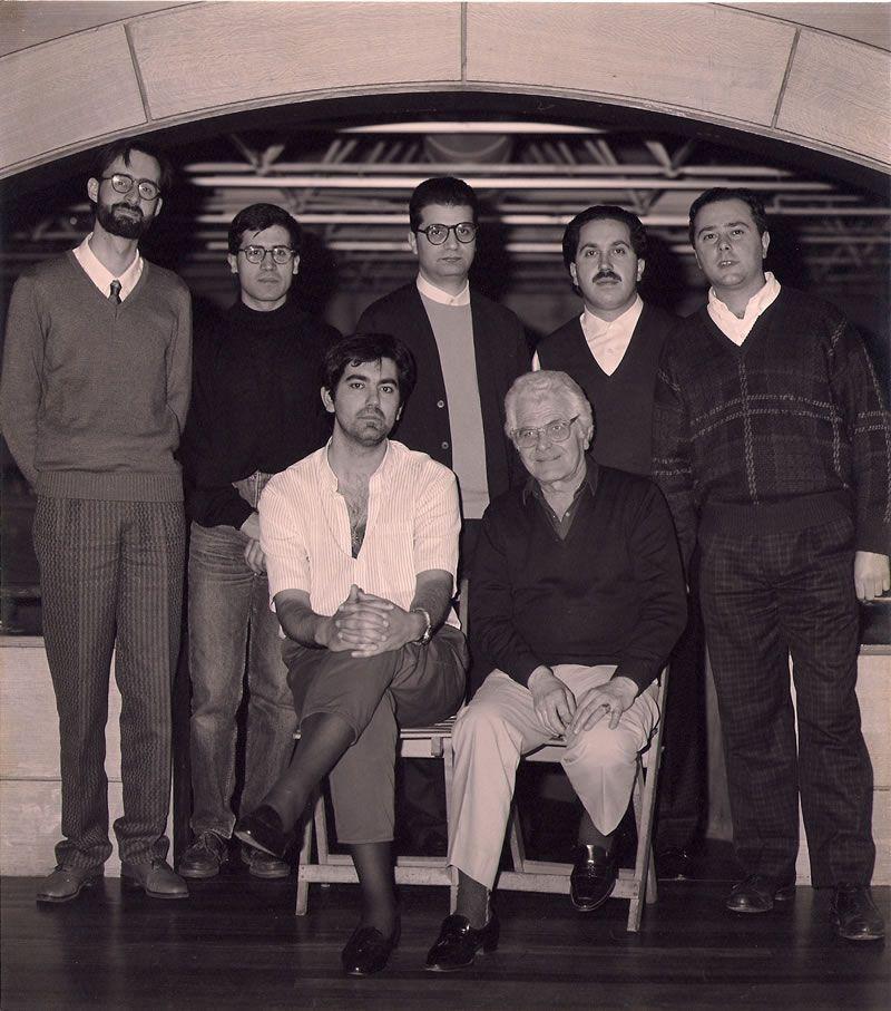 1987. Constitución da Asociación Galega de Compositores (Fotografía de Juan Rodríguez)