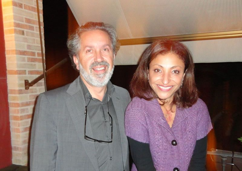 2012. Coa soprano Cristina Gallardo-Domâs, logo de interpretar O límite increado do mundo, no Festival de Benicassim