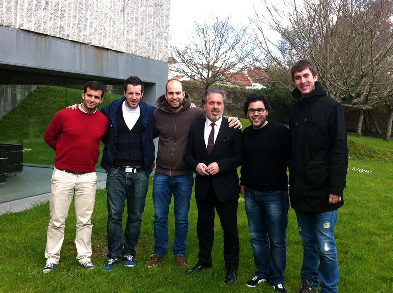 2013. Con Hércules Brass, na Escola de Altos Estudios Musicais de Santiago de Compostela