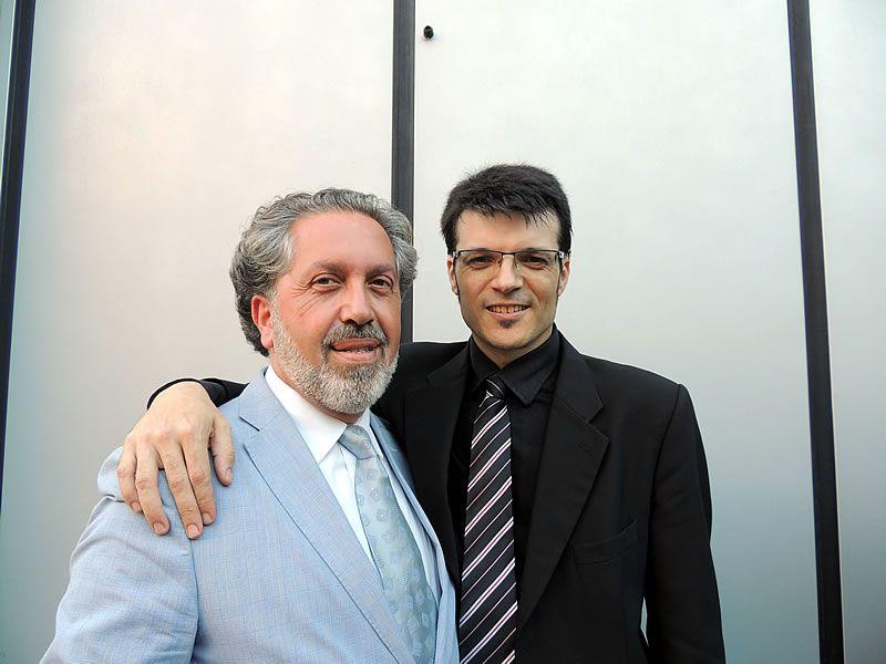 2014. Co compositor Andrés Valero-Castells