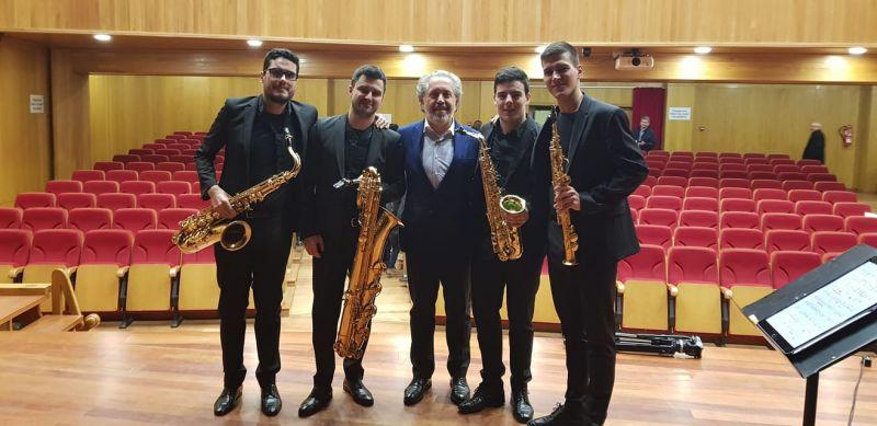 2019. Co Thesis Quartet logo da estrea en Galicia da miña Suite breve da paisaxe