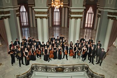A Orquestra Sinfónica Vigo 430 interpreta Cervantina de J. Durán