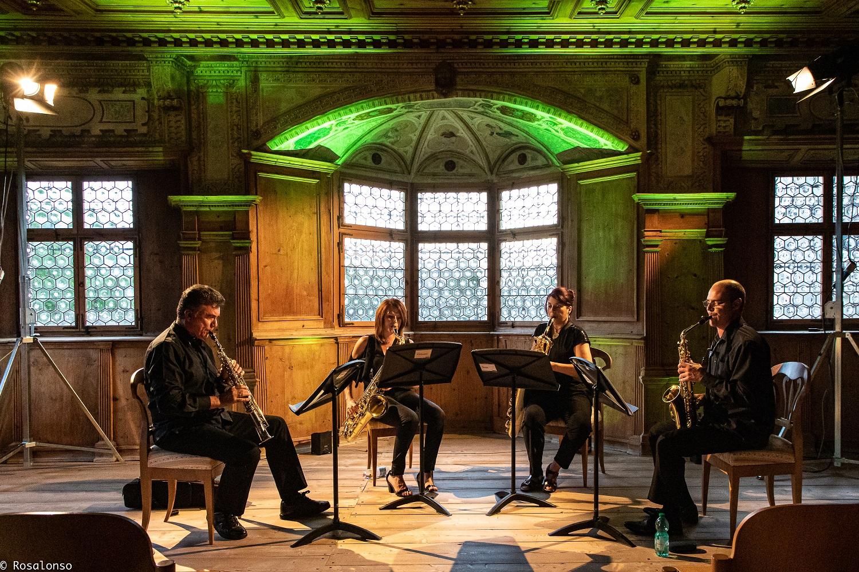 A Suite breve da Paisaxe de J. Durán polo Sax Ensemble en Sevilla