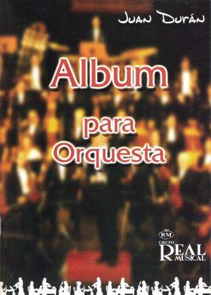 Album para orquesta (partitura y partes)