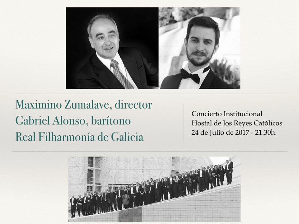 Arranxos de J. Durán en concerto da RFG con Zumalave e G. Alonso