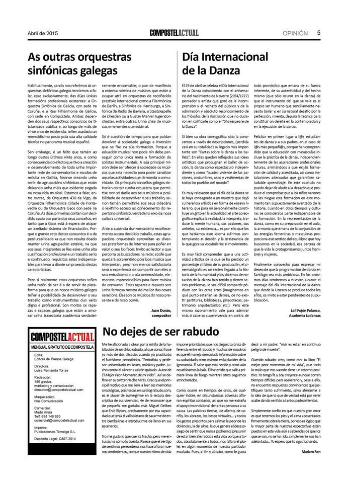 As outras orquestras sinfónicas galegas