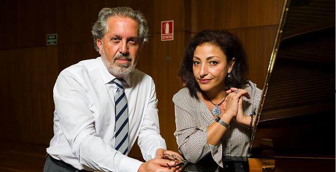 Concerto de Cristina Gallardo-Domâs con J.Durán en Ourense