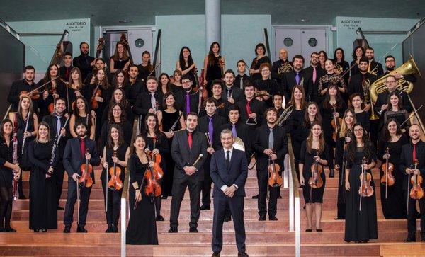 Estrea da Sinfonía para cordas de J. Durán por la Orquesta Vigo 430, el 22 de maio