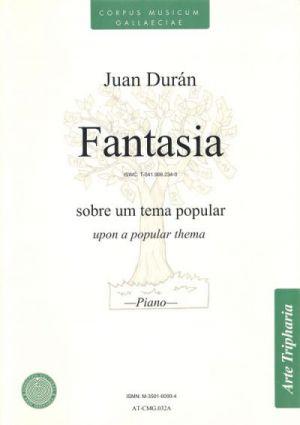 Fantasía sobre un tema popular (partitura)