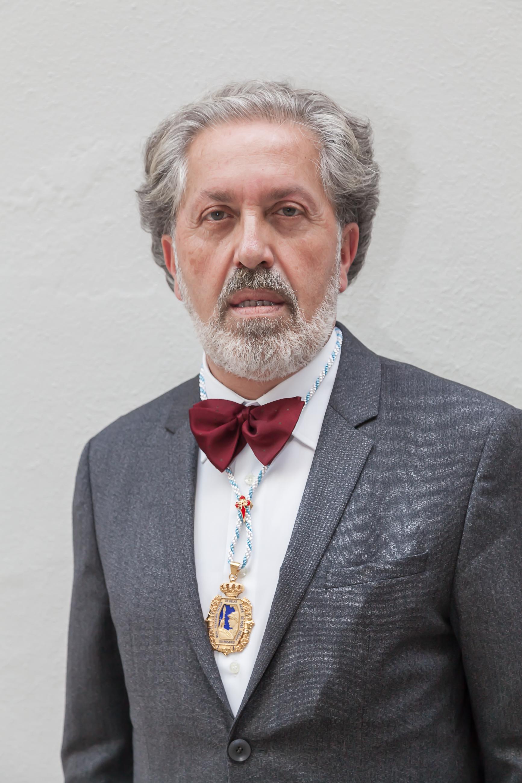 Ingreso de J. Durán na Real Academia Galega de Belas Artes