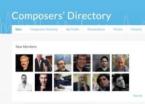 J. Durán en Composers Directory