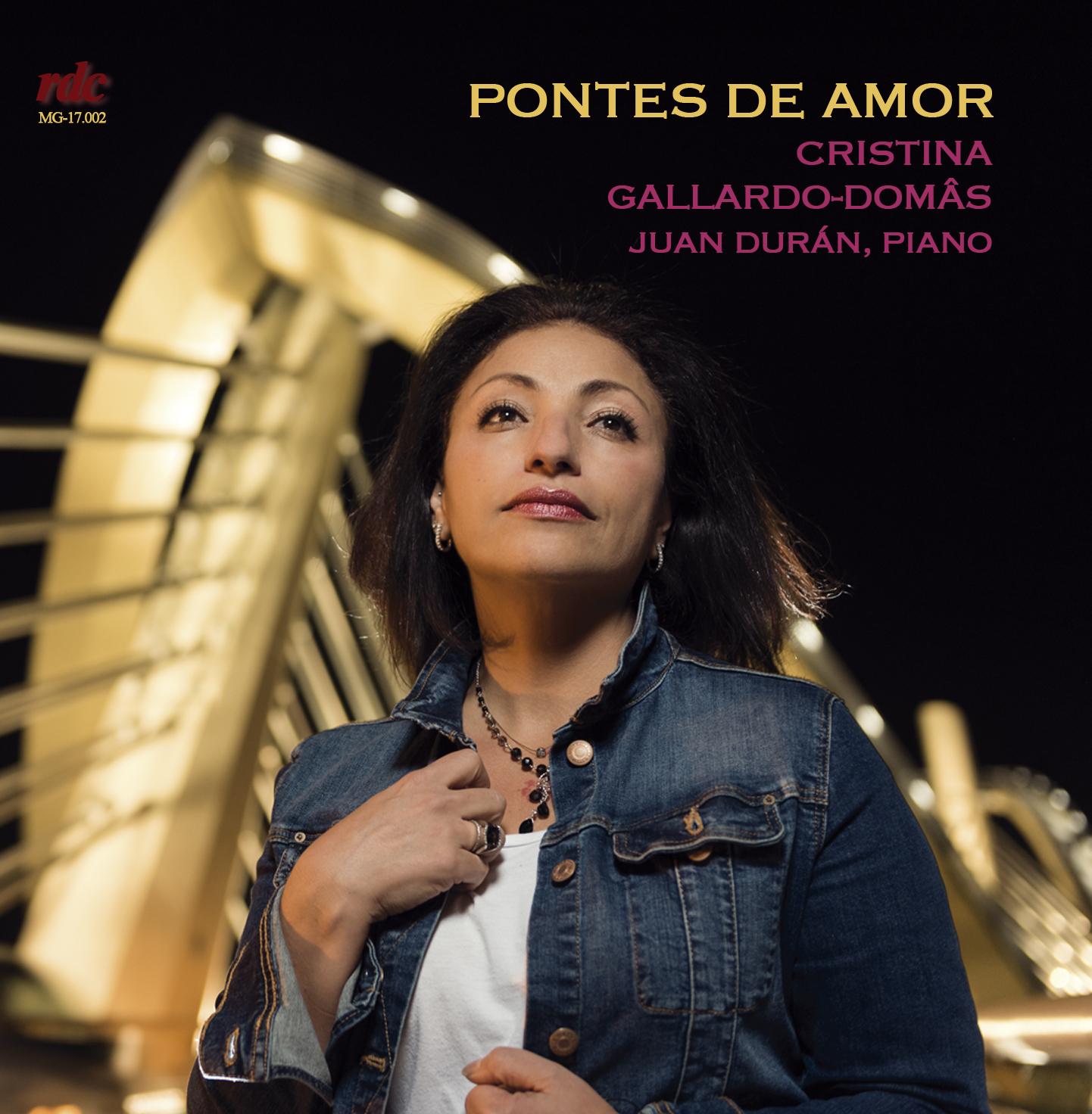 J. Durán grava un CD coa soprano Cristina Gallardo-Domâs