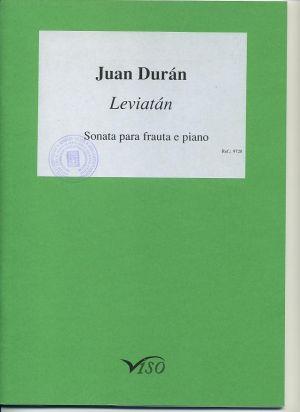 Leviatán, sonata para flauta y piano (partitura y partes)