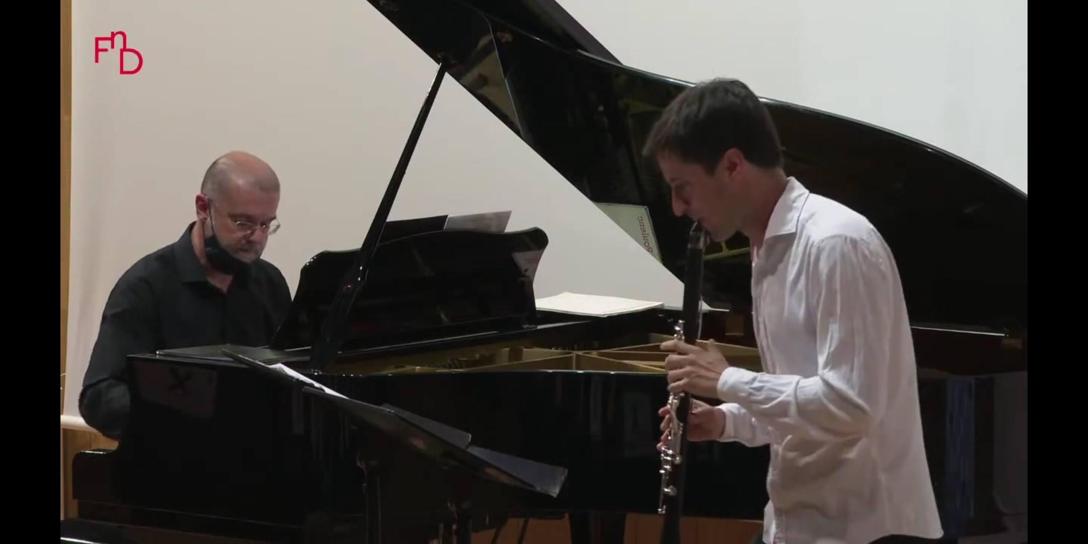 Música de J. Durán en el Festival de Música de Cámara de Vinaroz (Castellón)