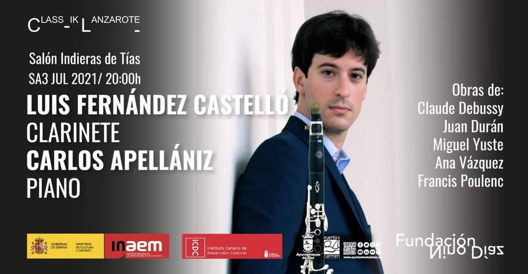 Música de J. Durán na Fundación Nino Díaz en Lanzarote