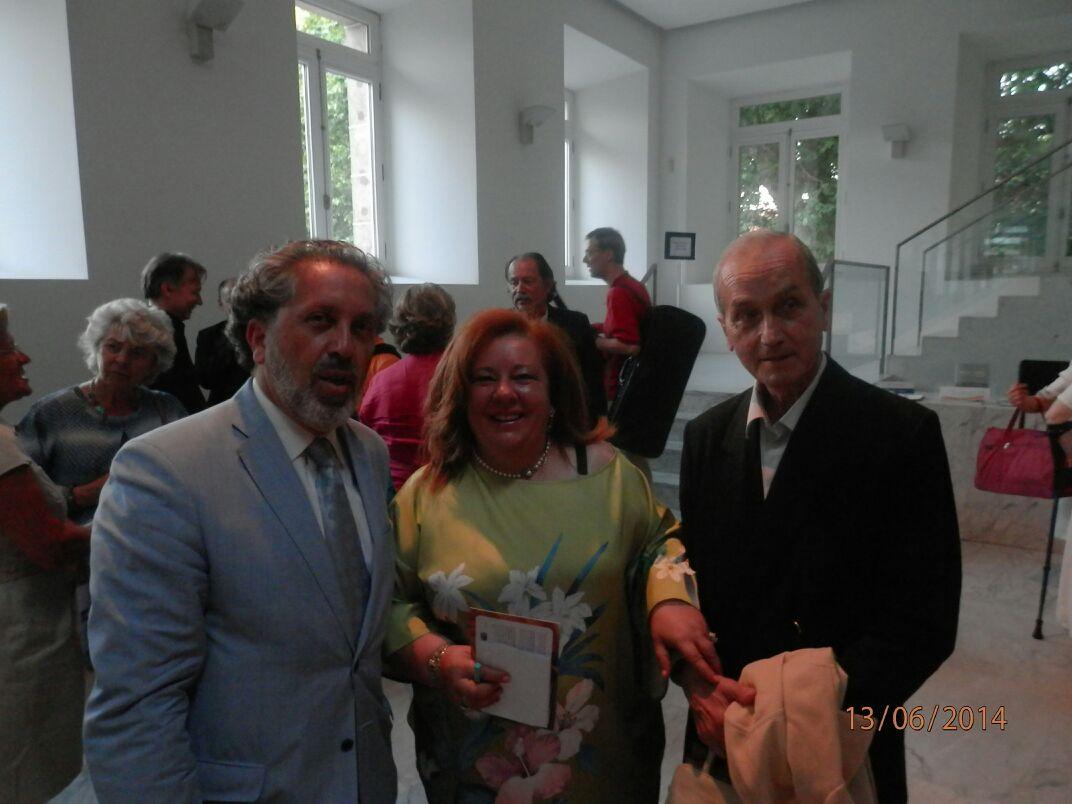 Música de J. Durán na homenaxe a Luis Mera no Teatro Jofre