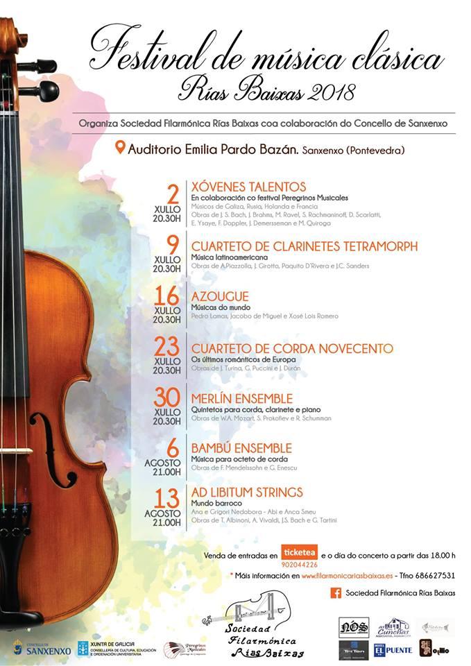 Música de J. Durán no Festival Rías Baixas