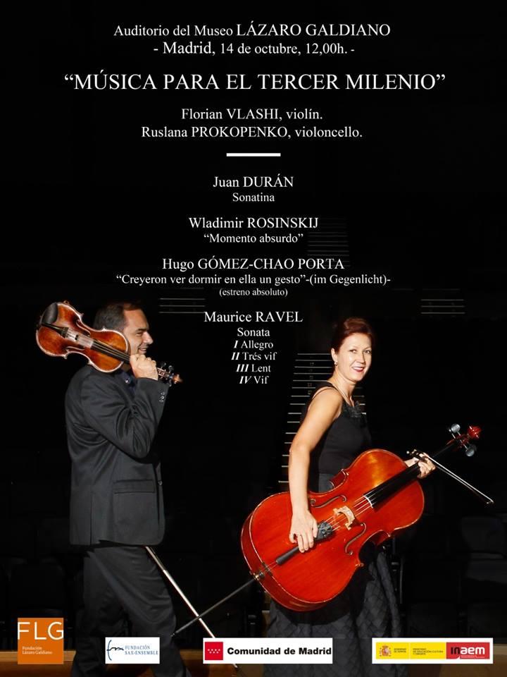 Música de J. Durán no Museo Lázaro Galdiano de Madrid