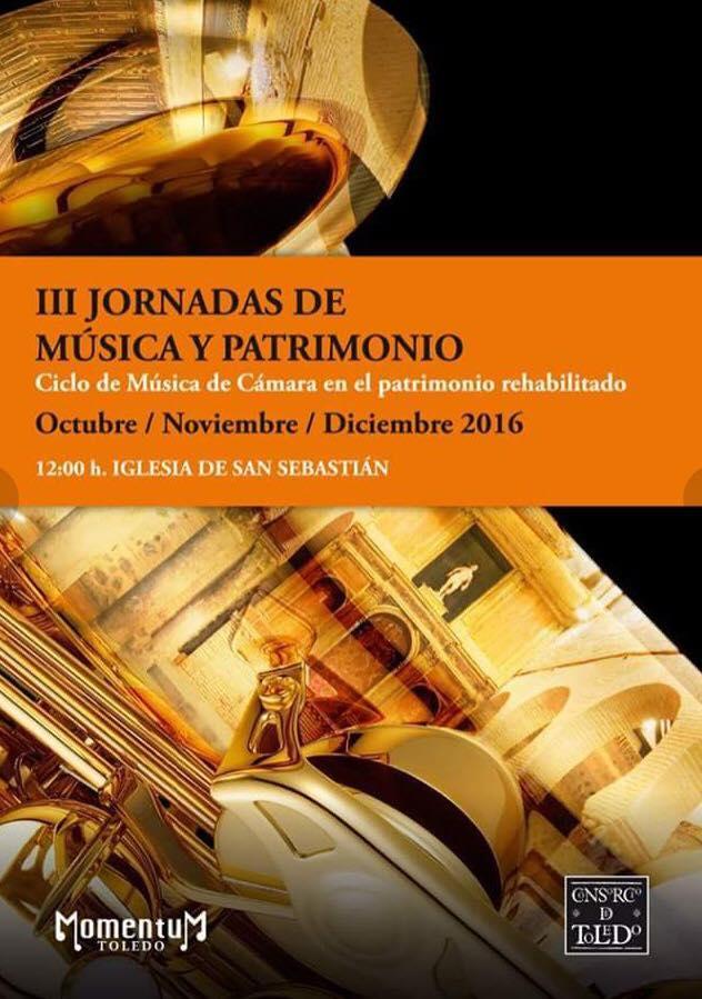 Música para saxofón e piano de J. Durán en Toledo