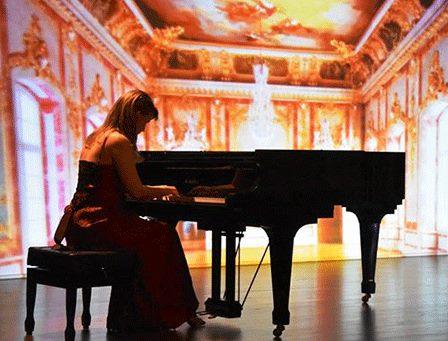 """O arranxo de Lela de J. Durán en """"Concierto de piano Romántico: Soprano (Noemí Mazoy) y piano (Conchi Seijas Moreda)"""" hoxe en Poferrada."""