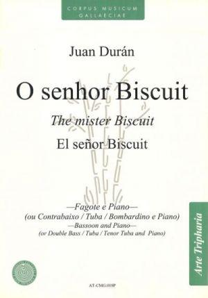 O Señor Biscuit (partitura y partes)