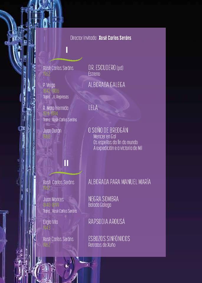 O Soño de Breogán de J. Durán pola Banda Sinfónica Municipal de Madrid