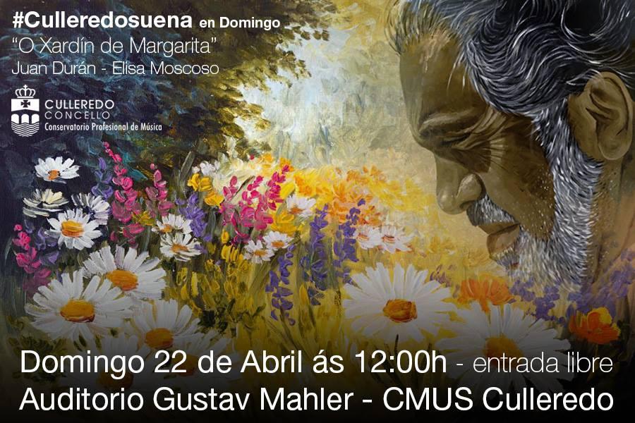 O Xardín de Margarita de J. Durán no CXMUS de Culleredo