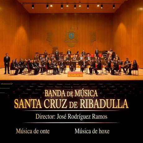 Presentación do CD da Banda de Música Santa Cruz de Ribadulla, coas Fanfarrias Xacobeas de J. Durán e R. Collazo