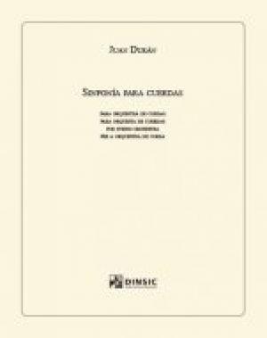 Sinfonía para cuerdas (partitura y partes)
