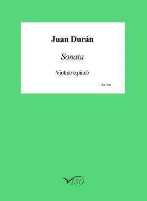 Sonata para violín y piano (partitura y partes)