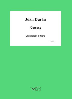 Sonata para violoncello y piano (partitura y partes)