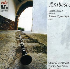 Sonatina para clarinete y piano (CD)