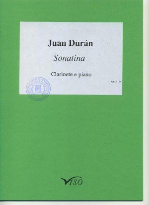 Sonatina para clarinete y piano (partitura y partes)