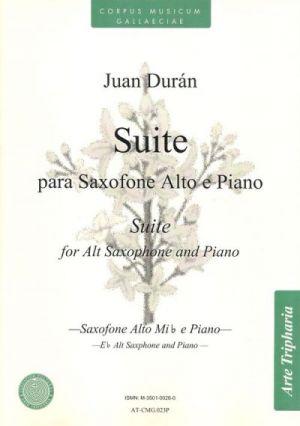 Suite para saxo e piano (partitura y partes)